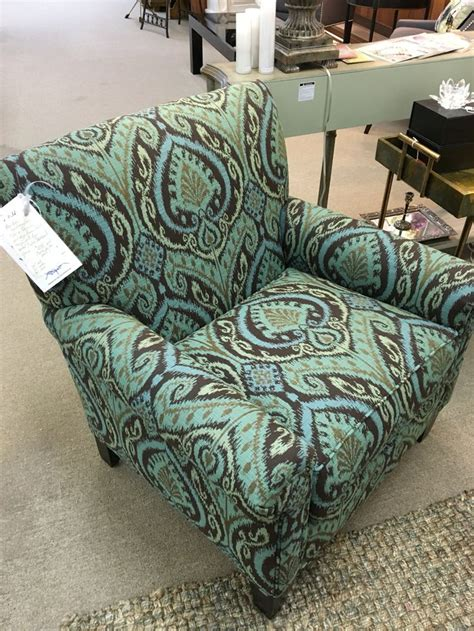 Ikat Arm Chair Design Ideas Arm Chair In Turquoise Ikat Fabric Masterfield Furniture 1295 Ea Or 2500 Pair Furniture
