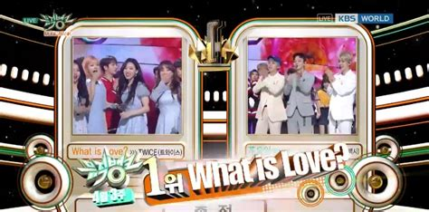 what is love mp watch twice takes 3rd win for quot what is love quot on quot music
