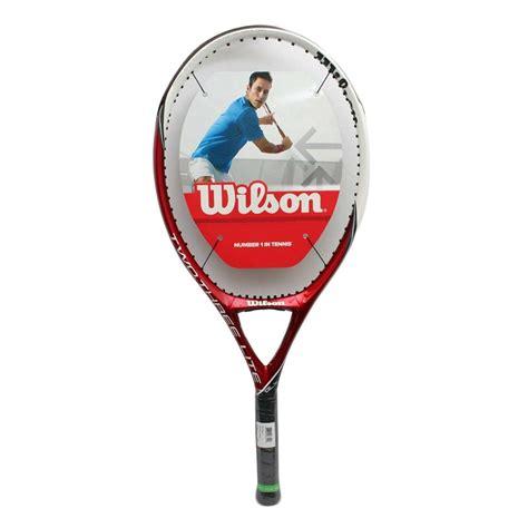 Raket Tenis Tennis Wilson Three Blx wilson two three lite blx tennis racket buy wilson two