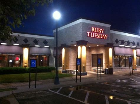 ruby tuesday 119th st olathe kansas kansas city july