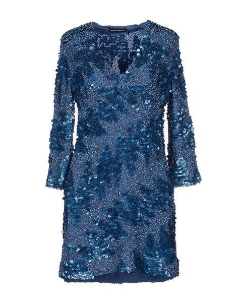 Dress Batik Free Belt antik batik dress in blue lyst