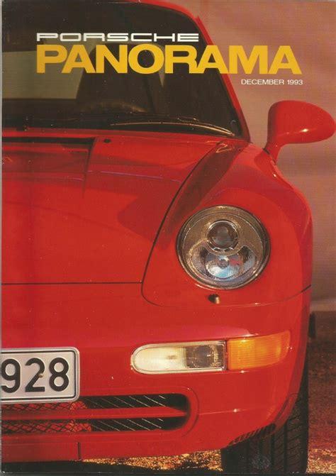 panorama porsche price porsche panorama 1993 dec 911 911 production