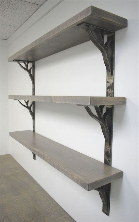 Custom Shelf Brackets by Custom Iron Linear Shelf Brackets By Ironcraft