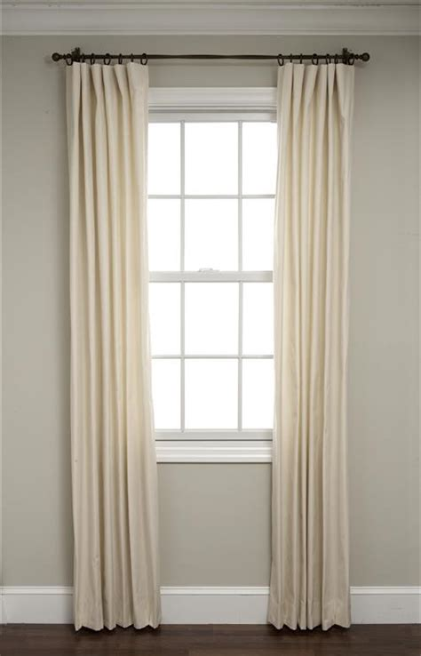Flat Panel Curtains Calico Flat Panel Drapes