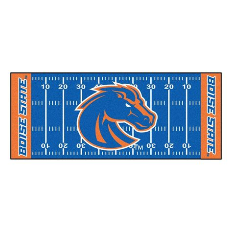 fanmats ncaa boise state green 2 ft 6 in x 6