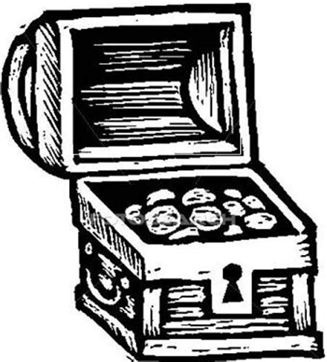 coloring page treasure chest treasure chest image clipart best