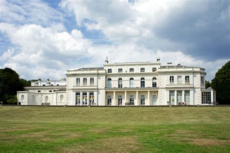 House Park by Gunnersbury Park House Large Mansion Maxwell Hamilton