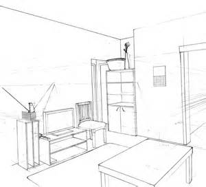 Sketch Room Gallery For Gt How To Draw A 3d Room