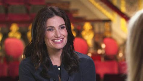 Popbytes Interviews Idina Menzel by Idina Menzel Makes A Name For Herself Cbs News
