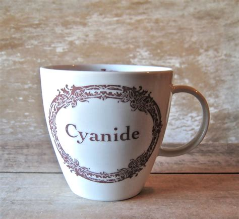 Syanide Mug Coffee 25 best ideas about cyanide poison on