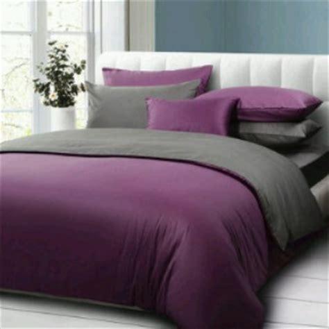 Sprei Polos Ungu Mix Abu Uk 200x200x20 Cm detail product seprei dan bedcover polos purple mix abu abu toko bunda
