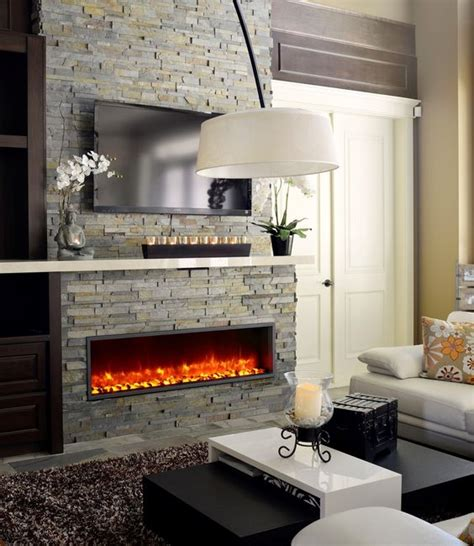 55 Inch Tv Above Fireplace by Electric Fireplace Reviews Electric Fireplaces And