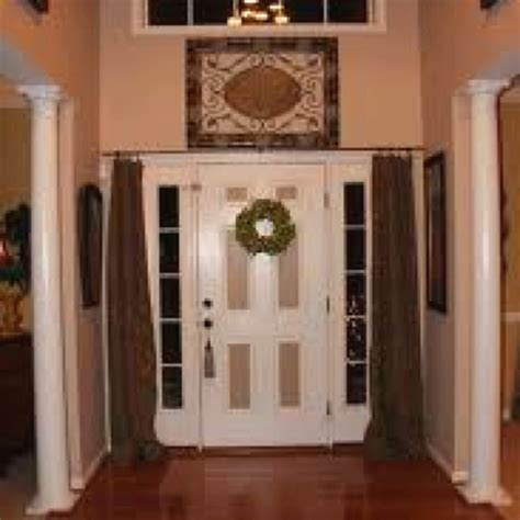 front door curtains 11 best images about privacy for front door on
