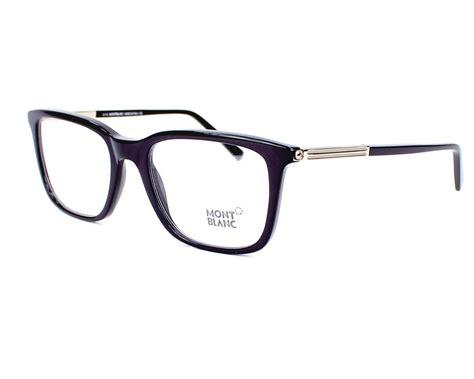 lunettes de vue mont blanc mb544 001 54 visionet