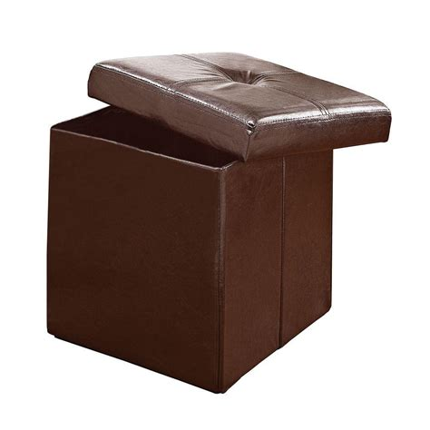 chocolate storage ottoman simplify chocolate storage ottoman f 0625 choco the home