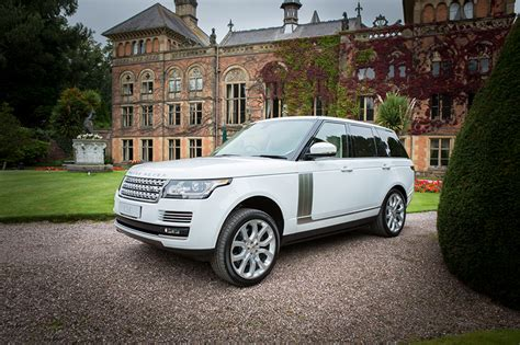 white range rover white range rover autobiography hire in chester