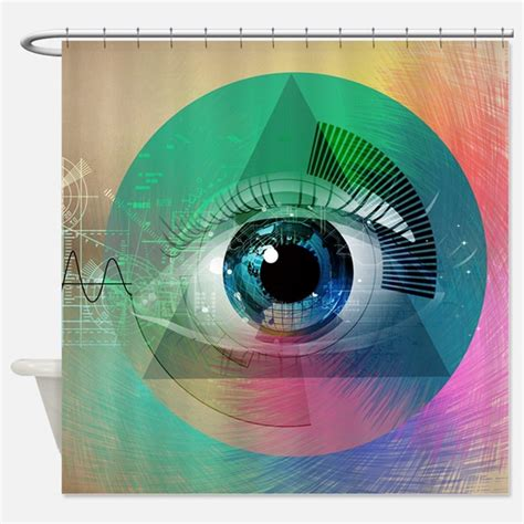 eye curtain all seeing eye shower curtains all seeing eye fabric