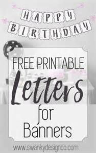 25 best ideas about printable birthday banner on