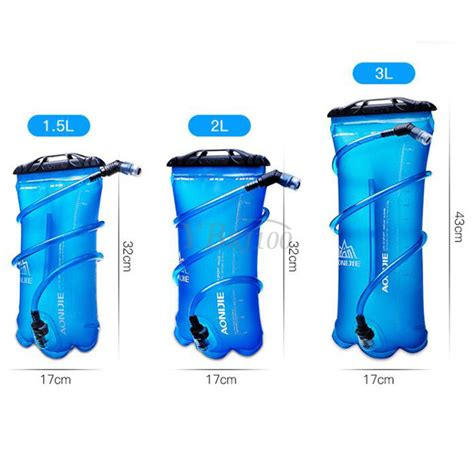 Aonijie Water Bladder Hydration Bag 2l 1x utility aonijie 1 5l 2l 3l hydration system water bladder bag cing cycling ebay