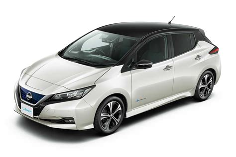 leaf nissan black the all zero emission 2018 nissan leaf revealed autobics