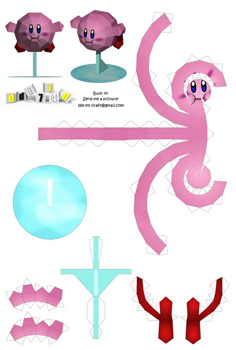 Kirby Papercraft - related keywords suggestions for kirby papercraft