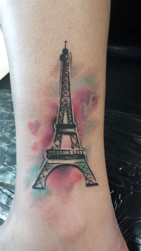 eiffel tower tattoo 57 eiffel tower tattoos