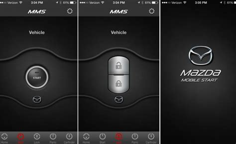 mazda mobile app mazda introduces mobile app with remote vehicle features