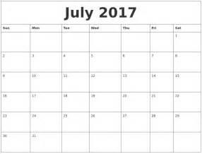 Calendar 2018 Office July 2017 Calendar Word Office Calendar Template 2017 2018