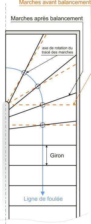 comment dessiner un escalier 1 4 tournant