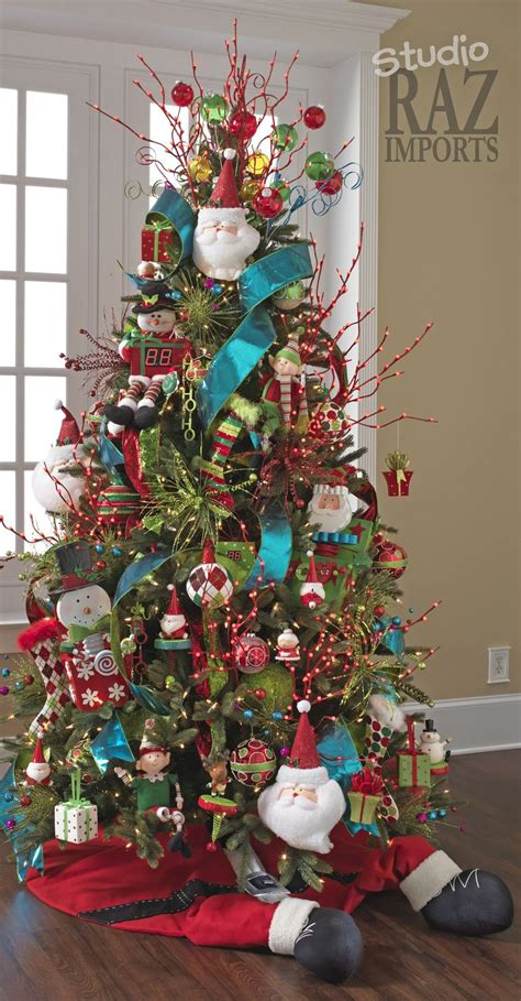 Multi Colored Christmas Tree Christmas Pinterest Multi Color Tree