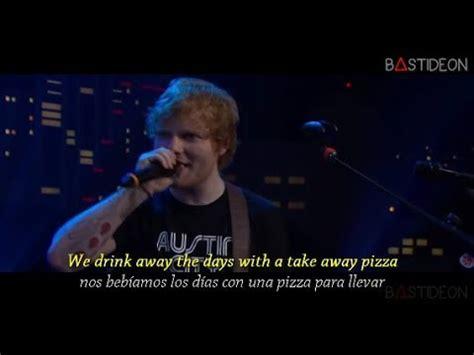 ed sheeran yt ed sheeran don t sub espa 241 ol lyrics youtube
