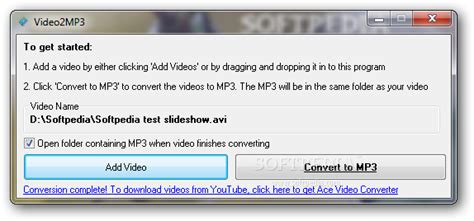 video2mp3 converter download download video2mp3 1 0