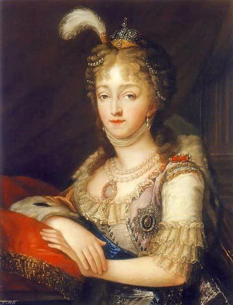 Coiffure Idéale by 1796 Grand Duchess Elizaveta Alexeievna Of Russia By