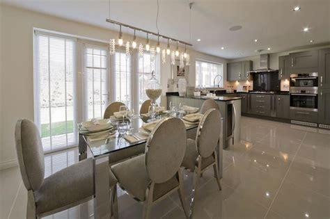 show home interiors ideas grey silver kitchen wimpey show home kitchen