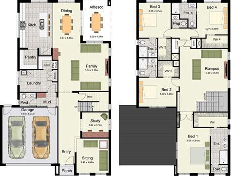 3d home design images of double story building plano de lujosa y lia casa moderna con 4 dormitorios