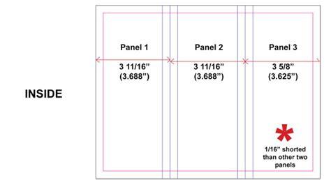 Brochure Templates Size brochure dimensions brochure designs pics