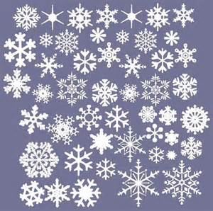 Snowflake Wall Stickers Vinyl Snowflakes Wall Decals Set Of 50 Christmas