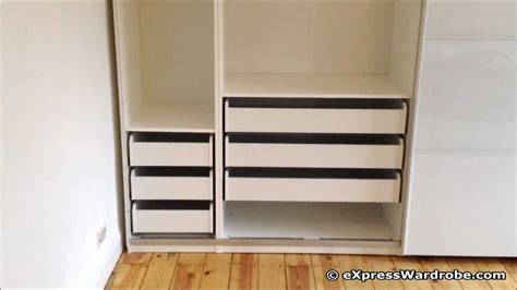 Ikea Hack Closet by Ikea Pax Tonnes Sliding Door Wardrobe Design Youtube