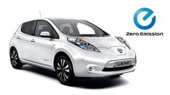 Electric Car Leaf Electric Cars Vans Nissan