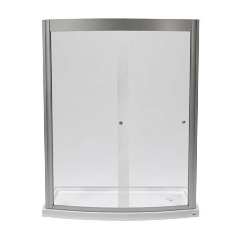 American Standard Ovation 60 In X 75 25 In Framed American Shower Door