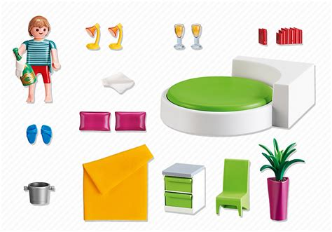 playmobil 5583 chambre avec lit rond achat vente