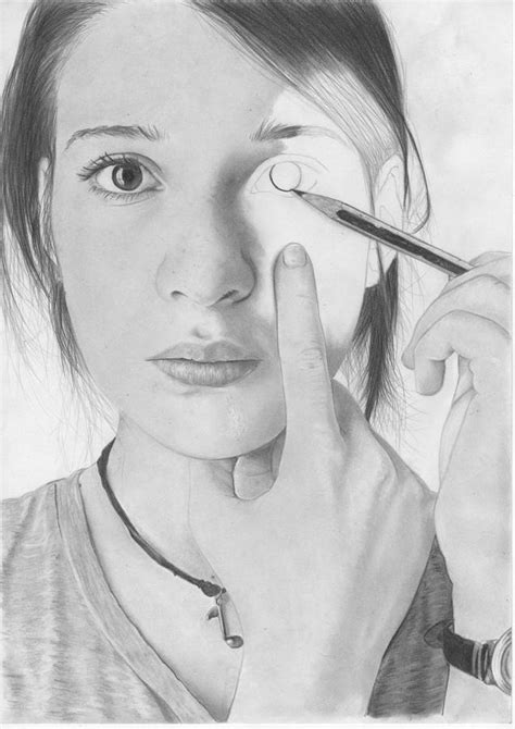 Drawing Yourself As A by Creating Yourself Drawing By Fabio Verolino