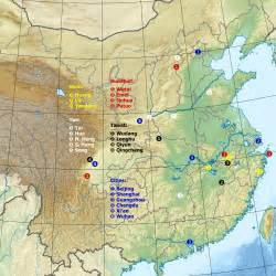 mountains in map sacred mountains of china