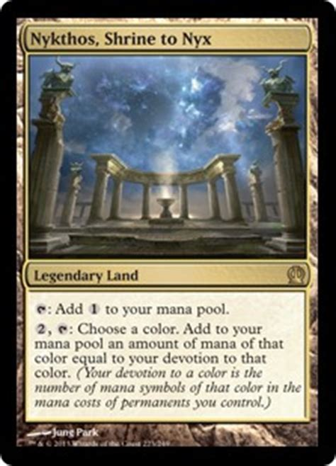 culla di gea nykthos shrine to nyx theros gatherer magic the