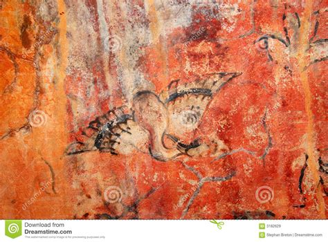play painting free cave painting bird 1 royalty free stock images image