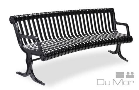 dumor bench curved bench ri140 dumor site furnishings