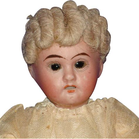 6 bisque doll 6 quot bisque 1907 socket glass eyed doll on composition