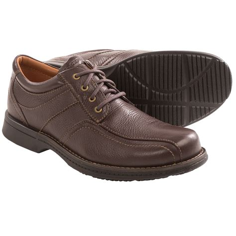 rockport rvsd bicycle toe shoes for in brown tumbled