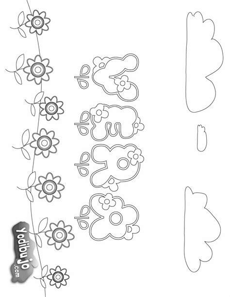 Imagenes Para Colorear Y Escribir El Nombre | dibujos para colorear vera es hellokids com