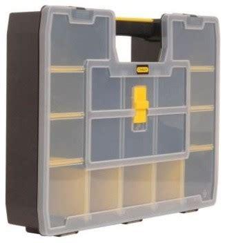 Stanley Closet Organizer stanley 17 compartment small parts storage organizer